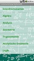 Screenshot of Formelsammlung Mathematik Pro