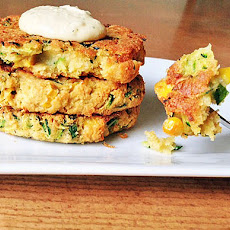 Zucchini and Corn Veggie Burgers