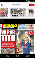 Screenshot of MUNDO DEPORTIVO ED. IMPRESA