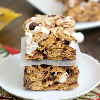 Golden Graham S'mores Squares