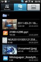Screenshot of NETGEAR ReadySHARE Cloud