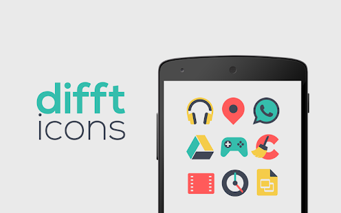 Difft - Icon Pack - screenshot