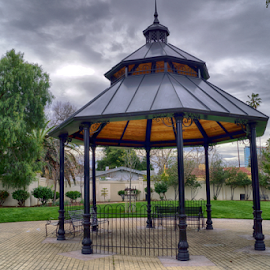 Sixth & William Gazebo by Rachel Santellano - City,  Street & Park  City Parks
