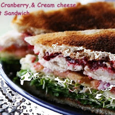 Micki's Turkey, Cranberry, & Cream Cheese Comfort Sandwich