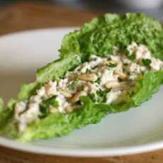 Herbed Tuna Salad with Feta and Pine Nuts