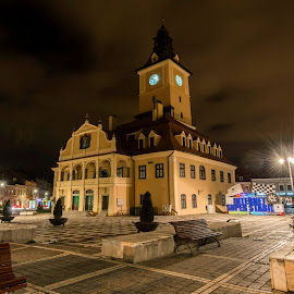 Brașov Council Square by Razvan Iliescu - City,  Street & Park  Historic Districts