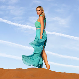 desert queen by SS PHOTOGRAPHY - People Fashion ( model, fashion, desert, fashion photography, photography )