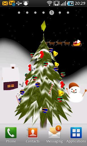 3D Christmas Live Wallpaper