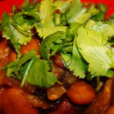 Vegan Kidney Bean and Mushroom Curry
