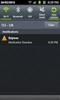 Screenshot of Medication Reminder