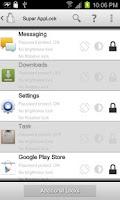 Screenshot of Super AppLock (App Protector)