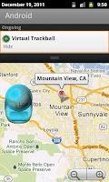 Screenshot of Virtual Trackball