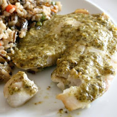 Simple and Quick Tilapia Pesto