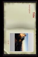 Screenshot of Pocket's Travel Album