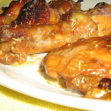 Hot, Sweet and Sticky Chicken Drumettes