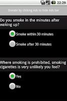 Screenshot of CigarettesDependenceTest