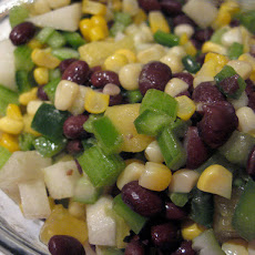 Black Bean Jicama Salad