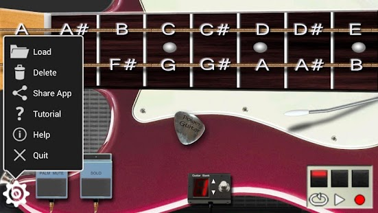 Power Guitar HD- screenshot thumbnail
