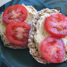 Nan's English Muffin, Hummus,  & Tomato Sandwich ( Ww )