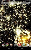 Screenshot of Christmas Fireworks Wallpaper