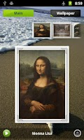 Screenshot of DaVinci Gallery & Puzzle
