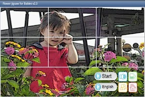 Screenshot of Flower Jigsaw Puzzles