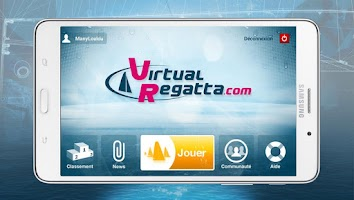 Screenshot of Virtual Regatta