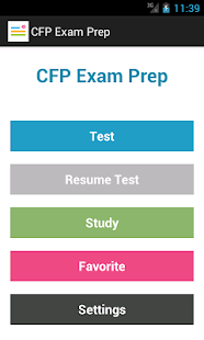 CFP (Financial) Exam Prep - screenshot