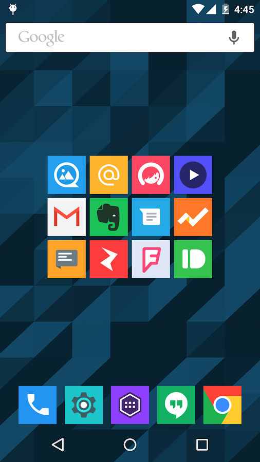 Minimal UI - Icon Pack Screenshot 3