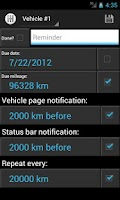 Screenshot of motoLog - Car Management