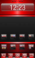 Screenshot of Red Gloss Theme