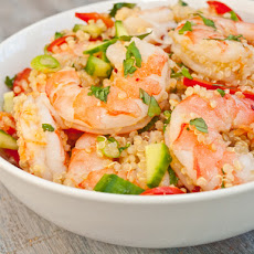 Serious Salads: Vietnamese Shrimp and Quinoa Salad