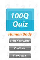 Screenshot of Human Body - 100Q Quiz