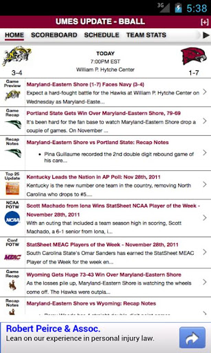 Maryland-Eastern Shore Basketb