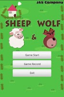 Screenshot of Sheep and Wolf Game