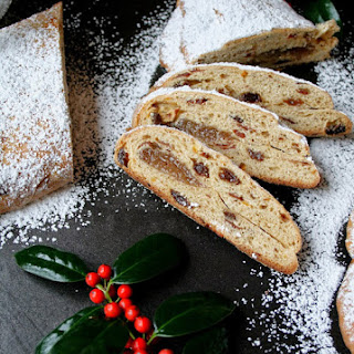 Christmas Stollen with Almond Filling
