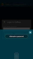 Screenshot of CellBox Lite Password Manager
