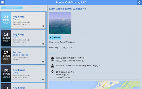 Scuba Outfitters, LLC - screenshot