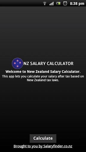 New Zealand Salary Calculator