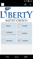 Screenshot of Liberty Baptist Church