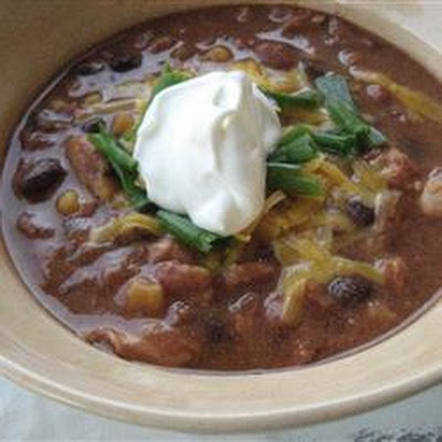 Best-Ever Slow Cooker Chicken Chilli