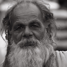 The Rishi by Ajit Pillai - People Portraits of Men (  )