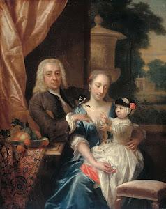 RIJKS: Philip van Dijk: painting 1742