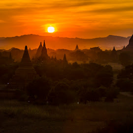 Bagan by Arka Kt - Landscapes Travel ( arka travel,  )