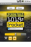 Screenshot of 101.9 The Rocket