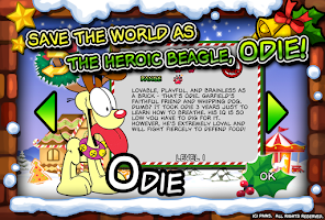 Screenshot of Garfield Saves The Holidays