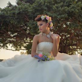 Let us Say I do by Juanito Bumactao - Wedding Bride ( Wedding, Weddings, Marriage )