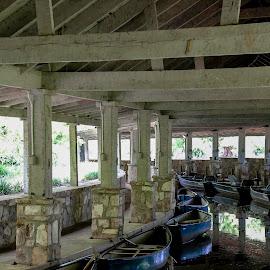 by Marjorie Bazluki - Transportation Boats