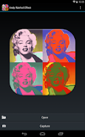 Screenshot of Andy Warhol Effect