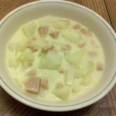 Belle's Cheesy Potato Stoup